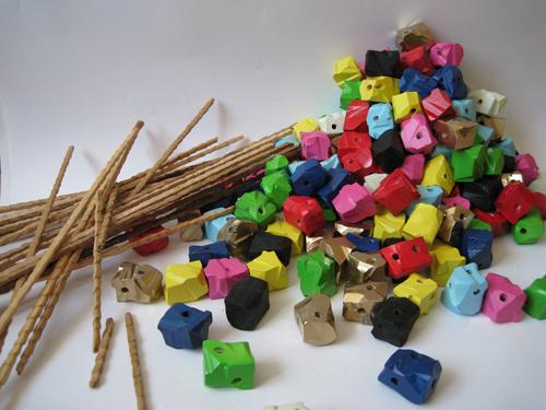 Sticks and beads