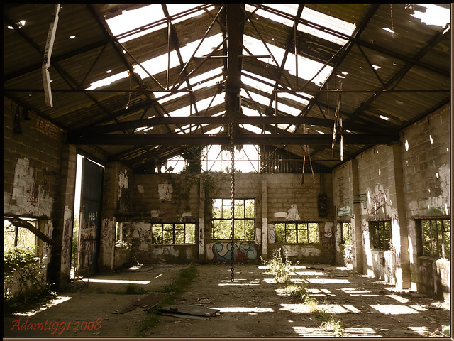 Abandoned Warehouse Flickr Photo Sharing