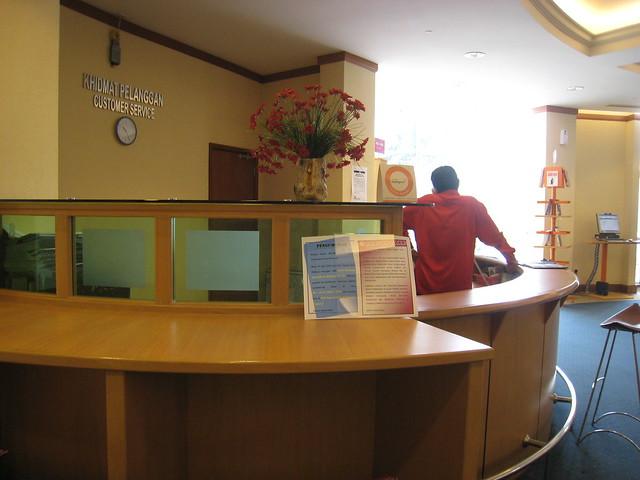 customer service desk flickr photo sharing. Black Bedroom Furniture Sets. Home Design Ideas