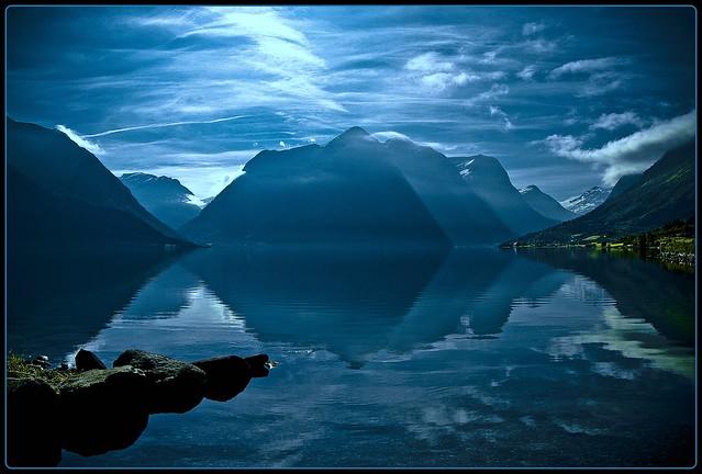 am Morgen in Norwegen - a norwegian morning
