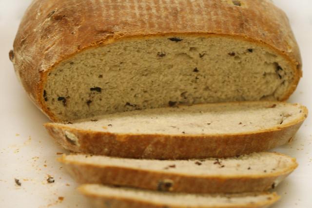 Mediterranean Olive Bread Sliced   Flickr - Photo Sharing!