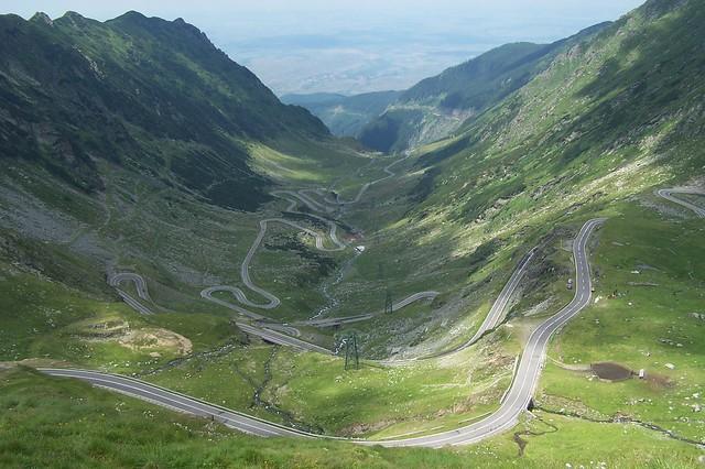 Transfagarasan route, Romania
