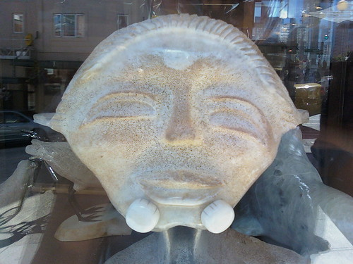 Whale Vertebrae Carving