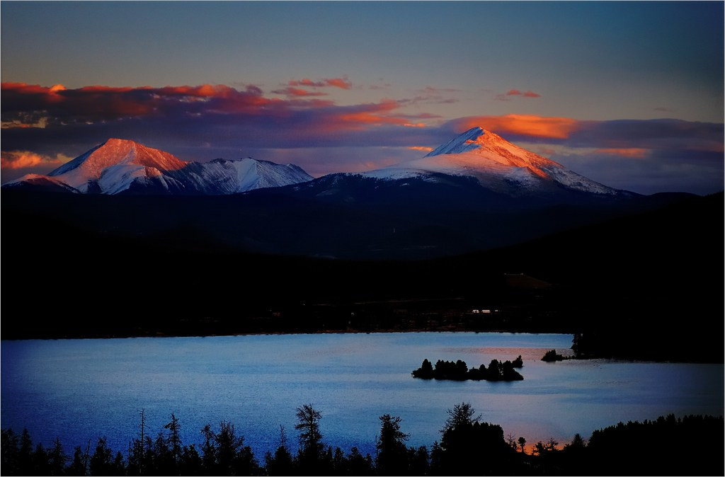 Lake Dillon at Sunset...