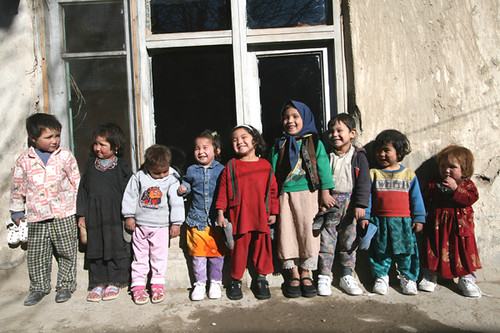 Children who received shoes