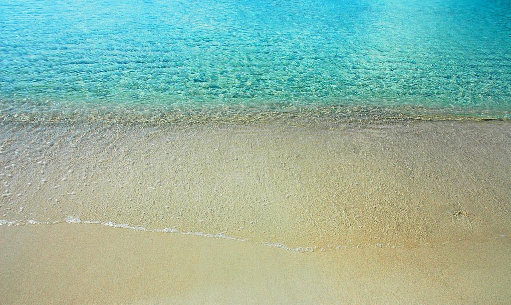 beach Palombaggia корсика