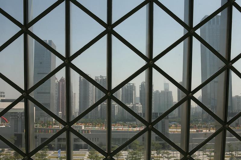 Shenzhen through Window