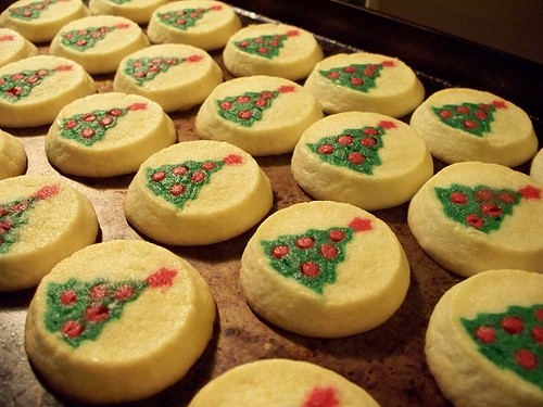 Pillsbury Christmas Tree Sugar Cookies