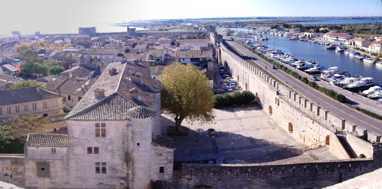 View from the tower, Aigues-Mortes