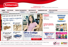 Rubbermaid.com Online Store, 2006
