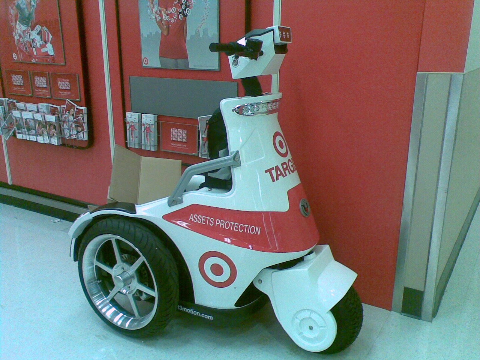 TARGET SUCKS!: Target Asset Protection Scooter Photos