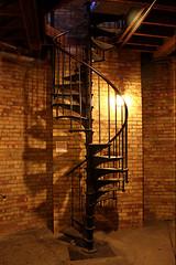 Spiral staircase - Casa Loma
