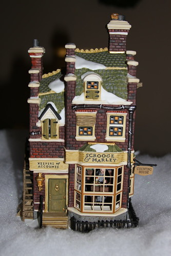 Dept 56 Scrooge and Marley Counting House | by Jim, the Photographer