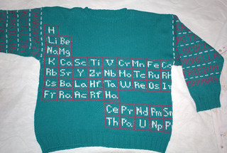 Periodic Table Sweater
