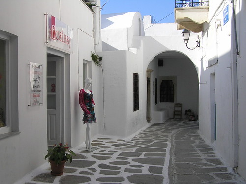Parikia, Paros, Greece.