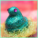 Little Blue Peep ring