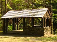 Philadelphia, PA 20080424 341 Fairmount Park, Forbidden Drive WPA shelter