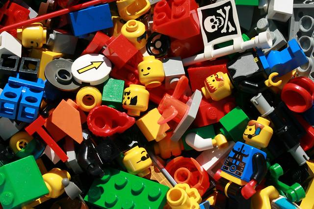 unemployment was high in lego land, by woodleywonderworks
