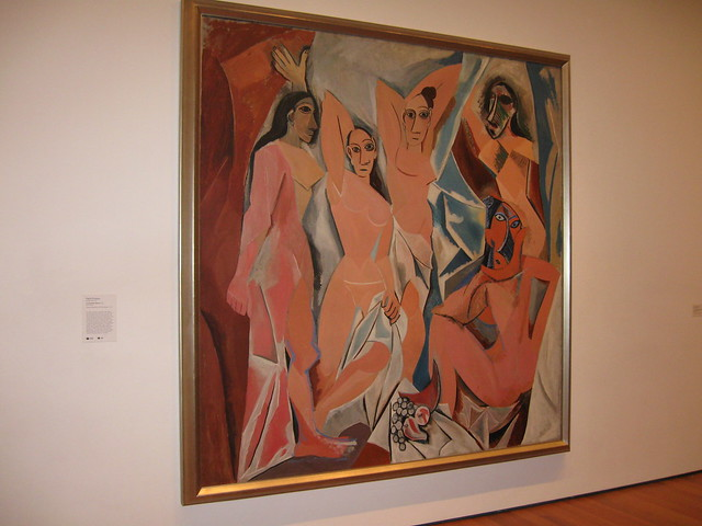 Picasso Les Demoiselles D Avignon Moma Flickr Photo Sharing