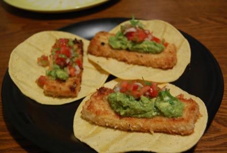 Dinner vegan fish taco for Vegan fish tacos