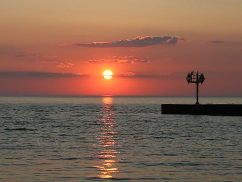 sunset newyork ontario lakeontario pointbreeze