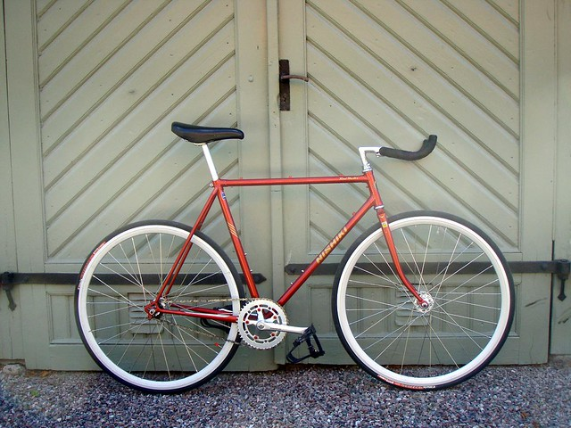 Nishiki Road Master Fixed Gear Conversion