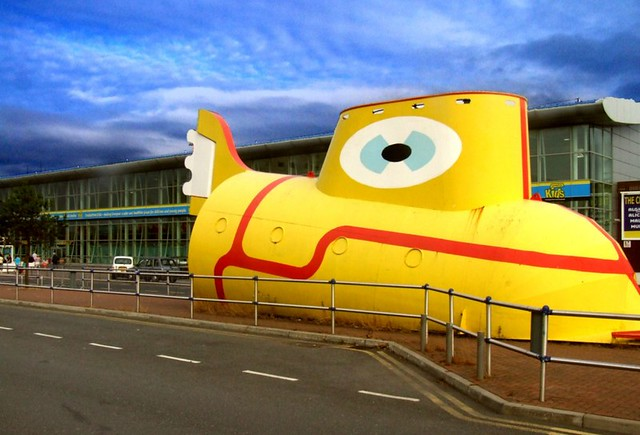 Liverpool, John Lennon Airport's Yellow Sub | Flickr - Photo Sharing!