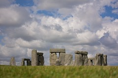 Clouds over Stonehenge