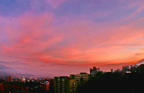 sunrise colombia amanecer medellin antioquia