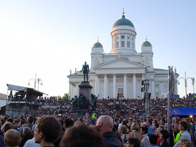 Finnish people in Helsinki