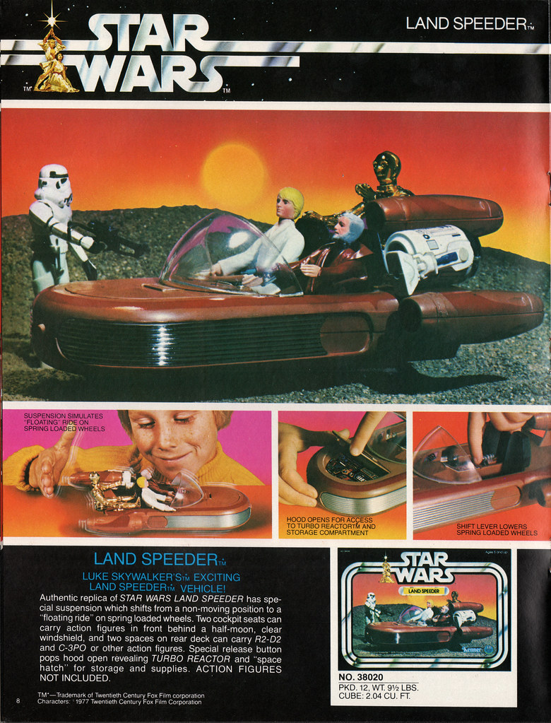 Kenner Star Wars product Supplement 1979 - page 09