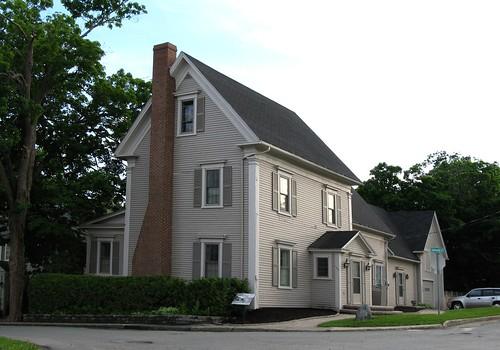 house canada historic newbrunswick woodstock 1884 greekrevival heritahe