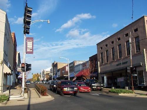 beautiful downtown batesville  arkansas
