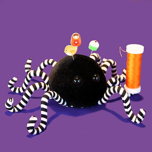 Anansi the Spider Pincushion