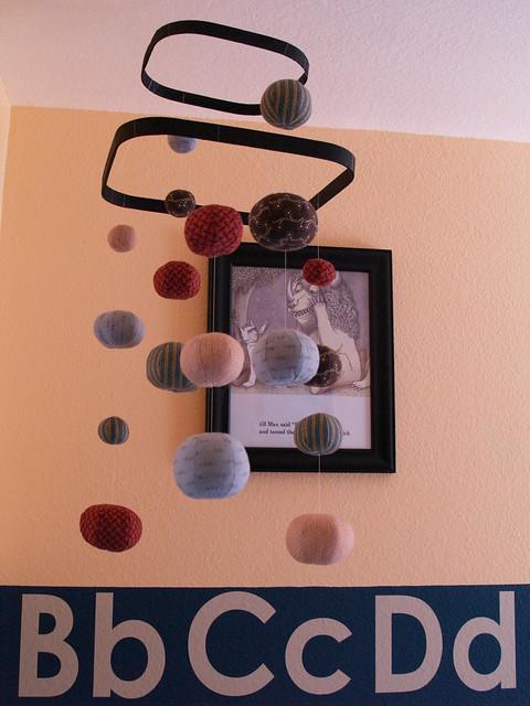 Homemade baby mobile flickr photo sharing for Homemade crib mobile