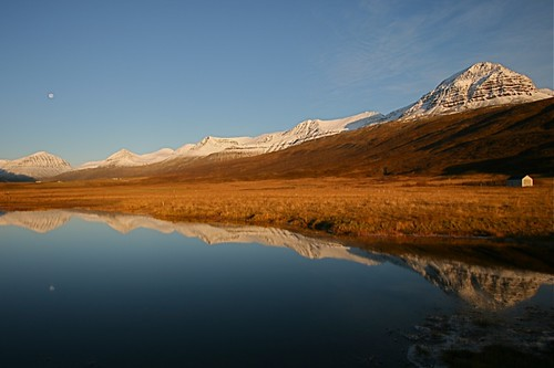 Autumn morning in Faskrudsfjordur