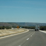 Interstate 25 from northern New Mexico
