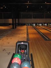 bowling half finished