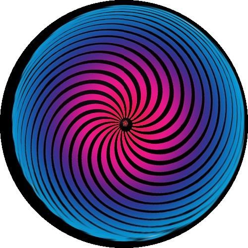 Op art amazing circle