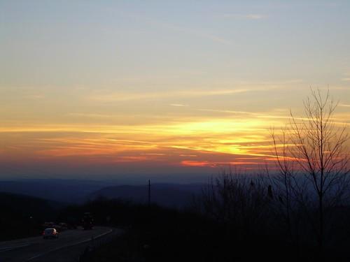 sunset orange ny geotagged portjervis geo:lat=41373650 geo:lon=74639667