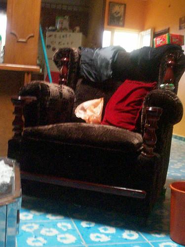 La silla de mi Tia Tonia