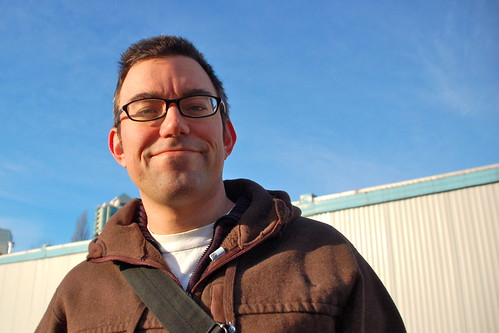 Derek in the schoolyard