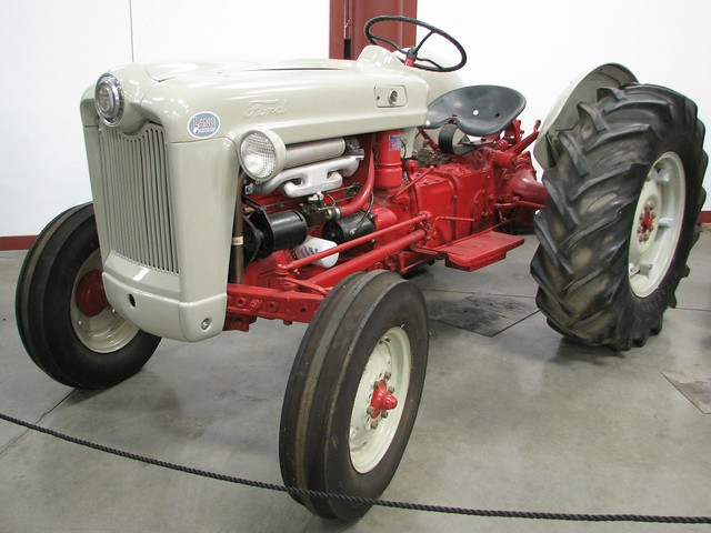 1953 ford golden jubilee tractor 1 flickr photo sharing