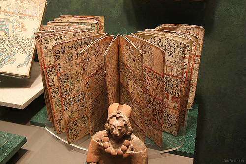 Ancient Mayan Book