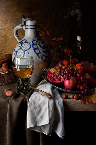 Still Life with Stoneware Jug
