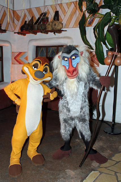 Timon and Rafiki