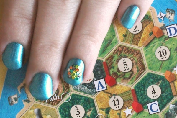 Catan Nails, close
