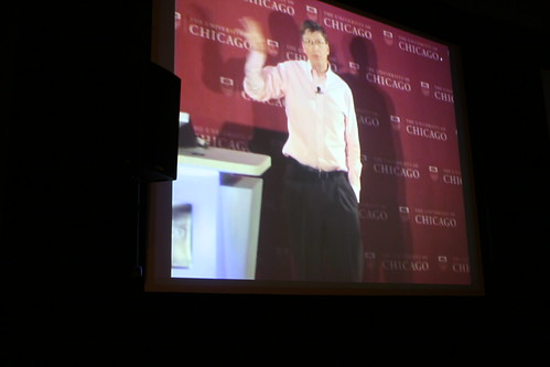 Bill Gates at the University of Chicago