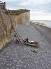 View east from Birling Gap