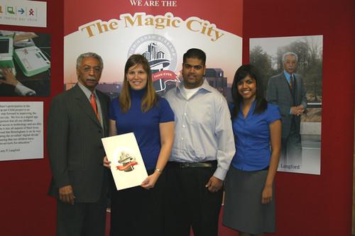 Public Health Students and Mayor